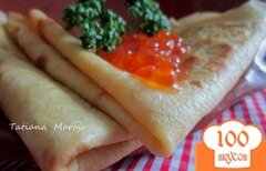Фото рецепта: «Вкусные блинчики на майонезе»