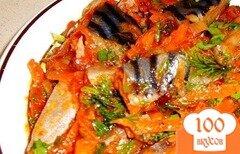 Фото рецепта: «Скумбрия с морковью»