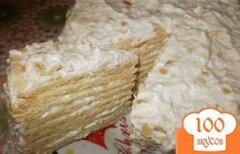 Фото рецепта: «Нежный торт «Медовик»»