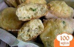 Фото рецепта: «Сырный содовый хлеб»