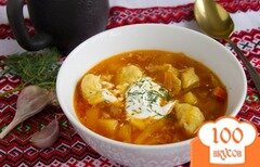 Фото рецепта: «Борщ по-полтавски»