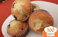 Фото рецепта: «Черничные кексы»