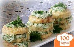 Фото рецепта: «Картофельные башенки»
