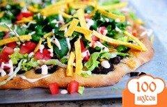 Фото рецепта: «Пицца тако»
