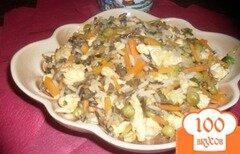 Фото рецепта: «Рис жареный по-китайски»
