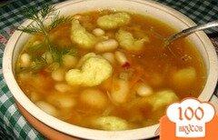 Фото рецепта: «Фасолевый суп по -сербски»
