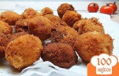Фото рецепта: «Грибы и помидоры в кляре. Горячая закуска!»