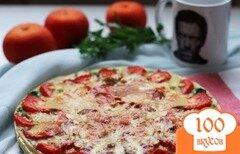 Фото рецепта: «Киш с грибами и помидорами»