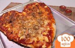Фото рецепта: «Пицца на день святого Валентина»