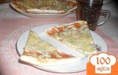 Фото рецепта: «Пицца 3 сыра»