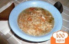 Фото рецепта: «Суп острый с гречкой»
