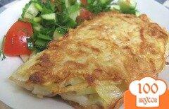 Фото рецепта: «Рыба в картофельной шубе»