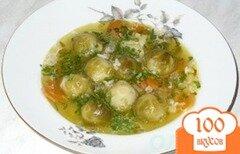 Фото рецепта: «Суп из брюссельской капусты»