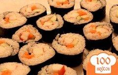 Фото рецепта: «Как сделать суши»
