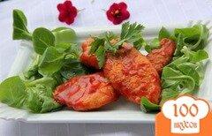 Фото рецепта: «Куриные кусочки в пикантном томатном соусе»