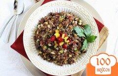 Фото рецепта: «Салат с клюквой и киноа»