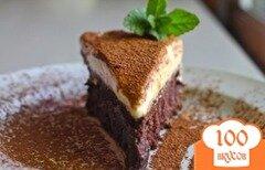 Фото рецепта: «Шоколадный торт с белым муссом»