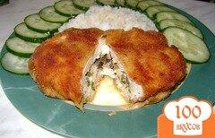 Фото рецепта: «Котлетки по-киевски из курочки»