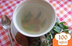 Фото рецепта: «Мятно-инжирный чай»
