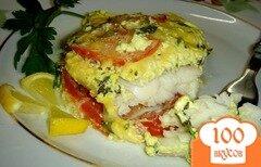 Фото рецепта: «Рыба с рисом в мультиварке»