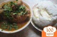 Фото рецепта: «Чахохбили или курица под горячим ореховым соусом»