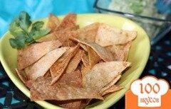 Фото рецепта: «Кукурузные чипсы»
