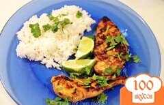 Фото рецепта: «Лаймовая курица»