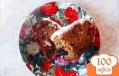 Фото рецепта: «Веганский кекс с сухофруктами»