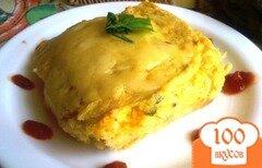Фото рецепта: «Овощная запеканка с сыром»