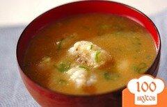 Фото рецепта: «Суп-мисо с овощными клецками»