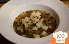 Фото рецепта: «Чешский чесночный суп»