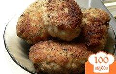 Фото рецепта: «Куриные котлеты с плавленым сыром»
