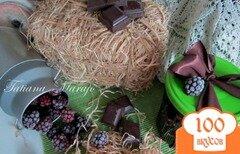 """Фото рецепта: «Конфитюр """"Ежевика-шоколад""""»"""