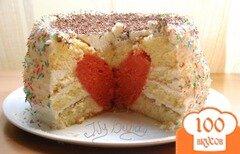 Фото рецепта: «Торт с сердцем»