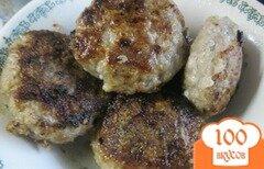 """Фото рецепта: «Мясные котлеты """"Фирменный минимум"""" (без яиц, картофеля, хлеба и т. д.)»"""