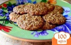 Фото рецепта: «Домашнее овсяное печенье»