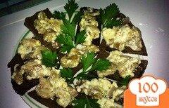 Фото рецепта: «Бутерброды с грибами»