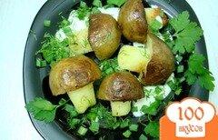 Фото рецепта: «Грибочки из картофеля»