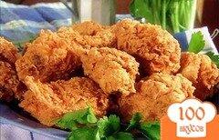 Фото рецепта: «Курица в сухарях»