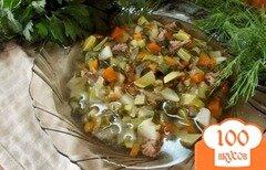 Фото рецепта: «Суп из кабачков на говядине»