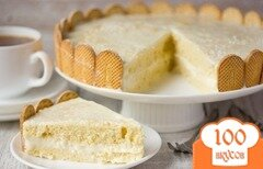 Фото рецепта: «Кокосовый торт»