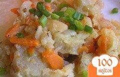 Фото рецепта: «Филе щуки с овощами»