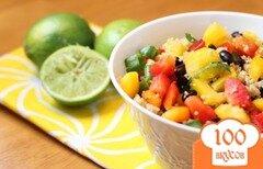 Фото рецепта: «Мексиканский салат с кускусом»