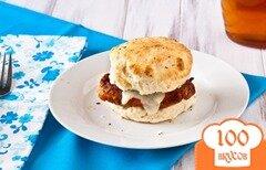 Фото рецепта: «Сэндвичи с курицей»