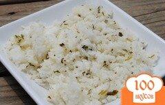 Фото рецепта: «Рис с кинзой и лаймом»