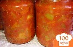 Фото рецепта: «Овощной салат на зиму»