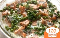 Фото рецепта: «Запеканка из цветной капусты и семги»