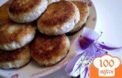 Фото рецепта: «Сырники с грецкими орехами»