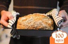 Фото рецепта: «Вегетарианский хлеб овсяный»