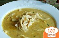 Фото рецепта: «Кремовый куриный суп»
